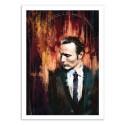 Art-Poster 50 x 70 cm - Mads Mikkelsen - Wisesnail