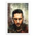 Art-Poster 50 x 70 cm - Tom Hardy - Wisesnail