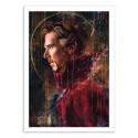 Art-Poster 50 x 70 cm - Waiting - Wisesnail