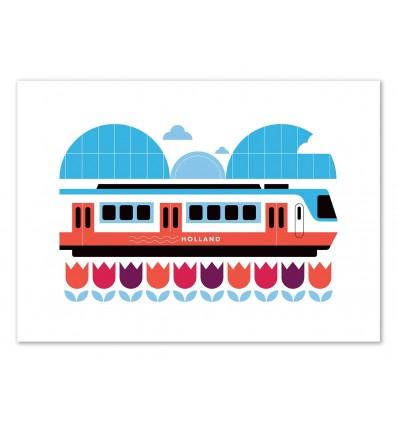 Limited Edition 50 ex. - Holland Train - Koivo