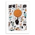 Art-Poster - Basketball - Sarah Matuszewski