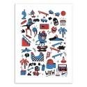 Art-Poster 50 x 70 cm - Rollin - Sarah Matuszewski