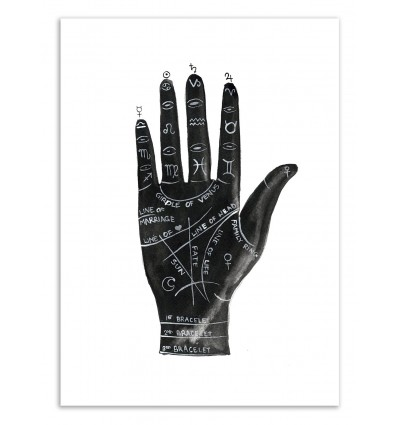 Limited Edition 50 ex. - Palmistry - Jessica The Aestate