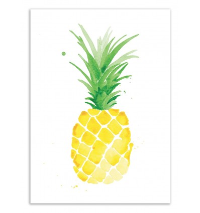 Limited Edition 50 ex. - Pineapple - Jessica The Aestate