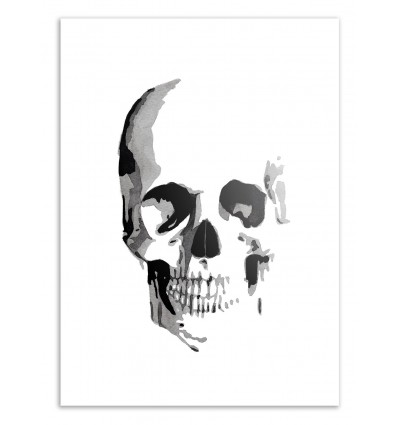 Limited Edition 50 ex. - Skull - Jessica The Aestate