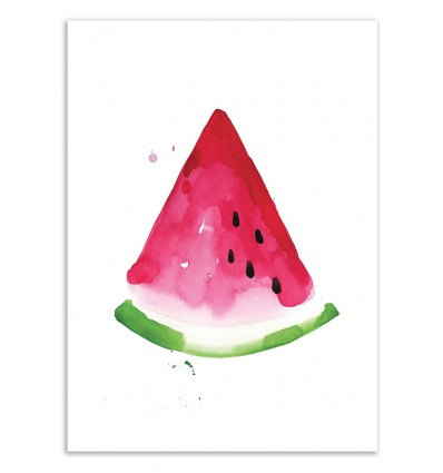 Limited Edition 50 ex. - Watermelon slice - Jessica The Aestate
