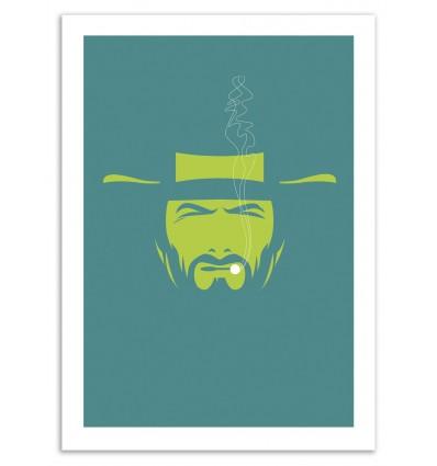 Art-Poster 50 x 70 cm - Clint - Bruno Morphet