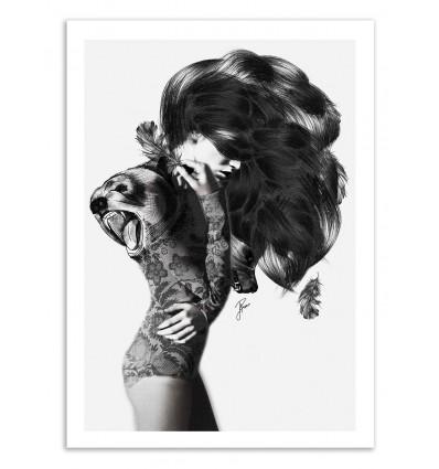 Limited Edition 50 ex. - Bear - Jenny Liz Rome