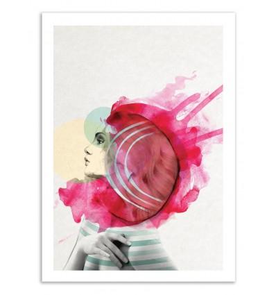 Limited Edition 50 ex. - Bright Pink - Jenny Liz Rome
