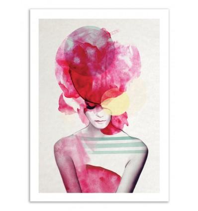 Limited Edition 50 ex. - Bright Pink II - Jenny Liz Rome