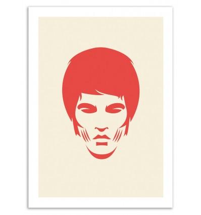 Art-Poster 50 x 70 cm - Bruce - Bruno Morphet
