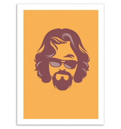 Art-Poster - The Dude - Bruno Morphet