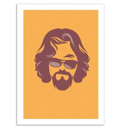 Art-Poster 50 x 70 cm - The Dude - Bruno Morphet