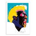 Art-Poster - Edition 50 ex. - Man Yelling - Alvaro Tapia