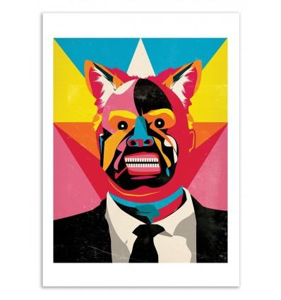 Art-Poster 50 x 70 cm - Edition 50 ex. - Important Man - Alvaro Tapia