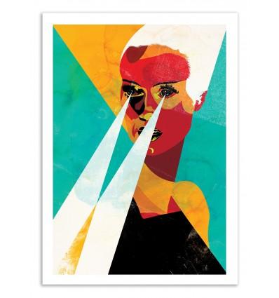 Art-Poster 50 x 70 cm - Edition 50 ex. - Woman Portrait - Alvaro Tapia
