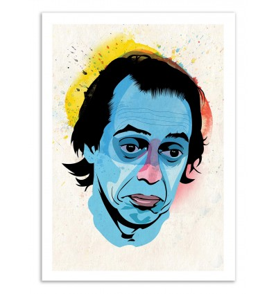 Art-Poster 50 x 70 cm - Edition 50 ex. - Buscemi - Alvaro Tapia
