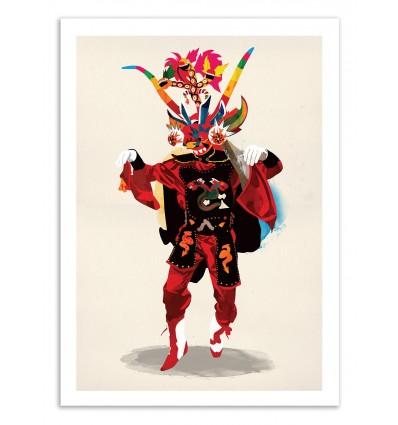 Art-Poster 50 x 70 cm - Edition 50 ex. - Diablo - Alvaro Tapia