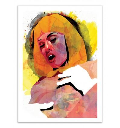 Art-Poster 50 x 70 cm - Edition 50 ex. - Eros - Alvaro Tapia