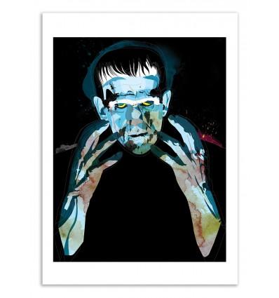 Art-Poster 50 x 70 cm - Edition 50 ex. - Frankie - Alvaro Tapia