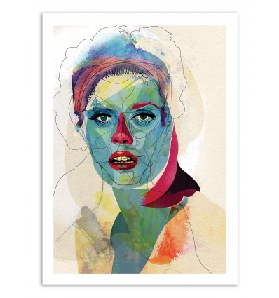 Art-Poster 50 x 70 cm - Edition 50 ex. - Girl - Alvaro Tapia