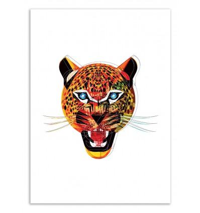 Art-Poster 50 x 70 cm - Edition 50 ex. - Jaguar - Alvaro Tapia