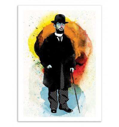 Art-Poster 50 x 70 cm - Edition 50 ex. - Lautrec - Alvaro Tapia