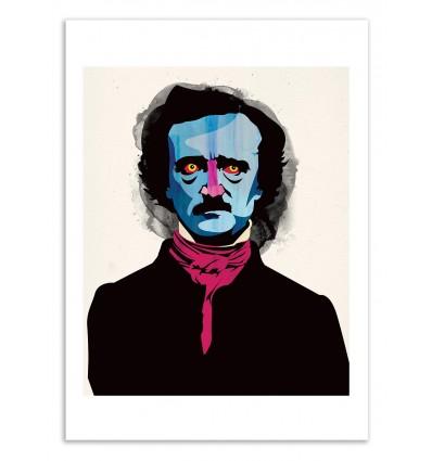 Art-Poster 50 x 70 cm - Edition 50 ex. - Poe - Alvaro Tapia