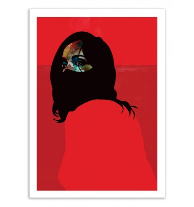 Art-Poster 50 x 70 cm - Edition 50 ex. - Red - Alvaro Tapia