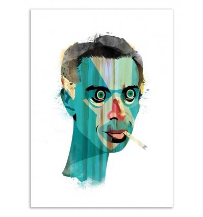 Art-Poster 50 x 70 cm - Edition 50 ex. - Smocker - Alvaro Tapia