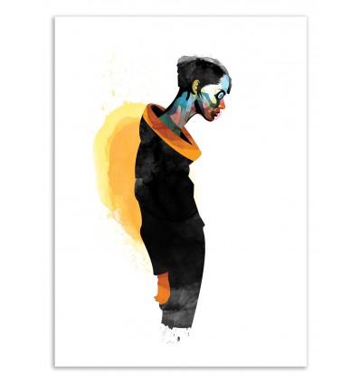 Art-Poster 50 x 70 cm - Edition 50 ex. - Thanatos - Alvaro Tapia