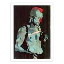 Art-Poster 50 x 70 cm - Edition 50 ex. - Travis - Alvaro Tapia