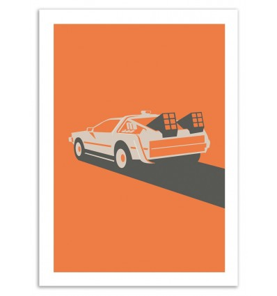 Art-Poster - Back to the Future - Bruno Morphet