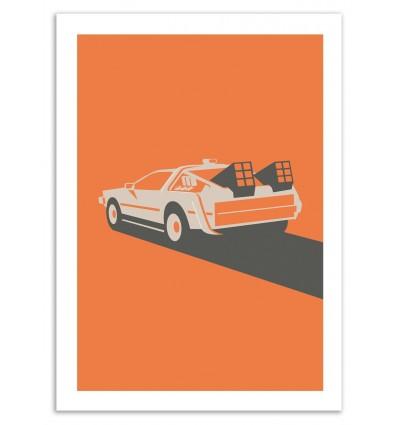 Art-Poster 50 x 70 cm - Back to the Future - Bruno Morphet
