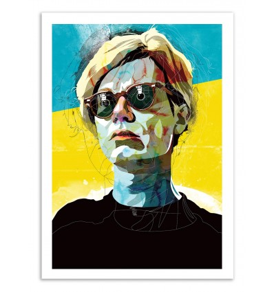 Art-Poster 50 x 70 cm - Edition 50 ex. - Warhol - Alvaro Tapia