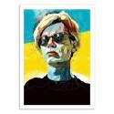 Art-Poster - Edition 50 ex. - Warhol - Alvaro Tapia