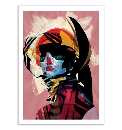 Art-Poster 50 x 70 cm - Edition 50 ex. - Woman Portrait II - Alvaro Tapia