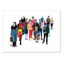 Art-Poster - Edition 50 ex. - Pandilla - Alvaro Tapia