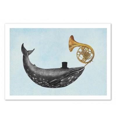 Art-Poster 50 x 70 cm - Whale Song - Terry Fan