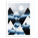 Art-Poster - Frost Mountains - Elisabeth Fredriksson