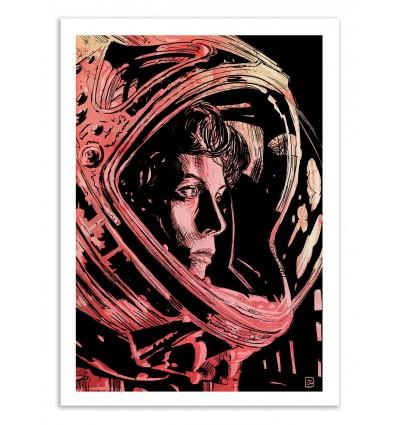 Art-Poster 50 x 70 cm - Alien - Giuseppe Cristiano