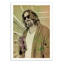Art-Poster - The Big Lebowski - Giuseppe Cristiano