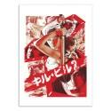 Art-Poster 50 x 70 cm - Kill Bill vol.2 - Joshua Budich