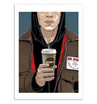 Art-Poster 50 x 70 cm - Mr. Robot - Joshua Budich
