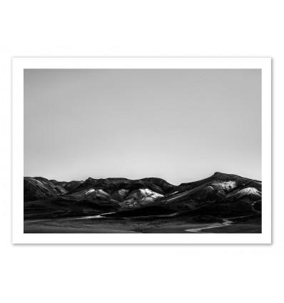Art-Poster 50 x 70 cm - Salar de Uyuni Landscape Raw - Joe Mania