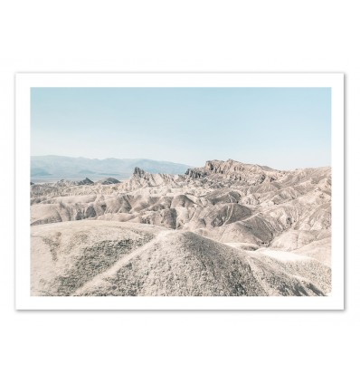 Art-Poster 50 x 70 cm - Golden Canyon Landscape Raw - Joe Mania