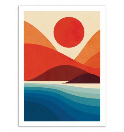 Art-Poster 50 x 70 cm - Seaside - Jay Fleck