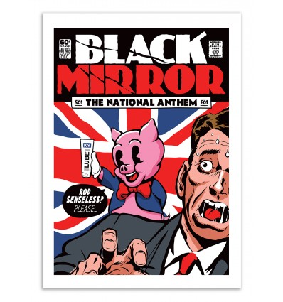 Art-Poster 50 x 70 cm - Anthem - Butcher Billy