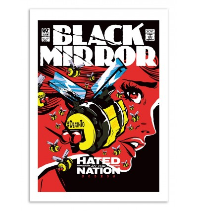 Art-Poster 50 x 70 cm - Hated - Butcher Billy