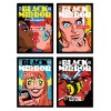 4 Art-Posters 20 x 30 cm - Pack Black Mirror Episodes - Butcher Billy
